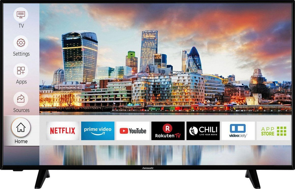 HANSEATIC 50H600UDS 127CM ! 4K, WIFI, SMART !!