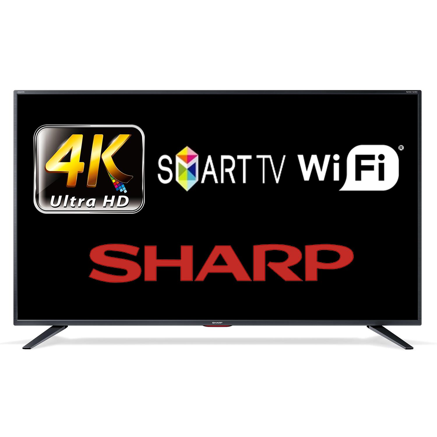 SHARP 49BJ5K 125CM 4K, UHD WIFI SMART LED TV ! AKCIÓ!
